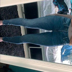 levi 711 24 skinny jeans